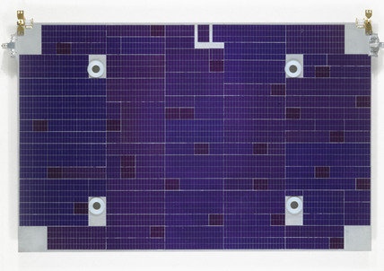 Solar cells from the Landsat 5 satellite, 1984.
