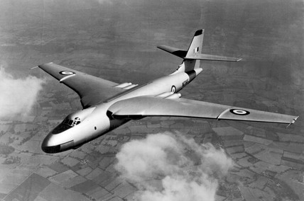 Vickers-Armstrong Valiant V-Bomber W2365 in flight, c 1951.