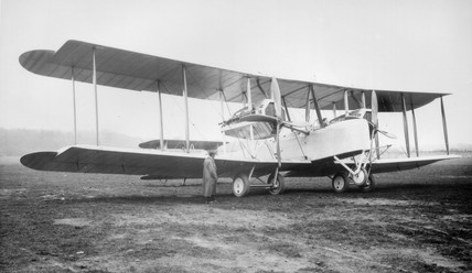 Vickers Vimy, 1919. Alcock & Brown's