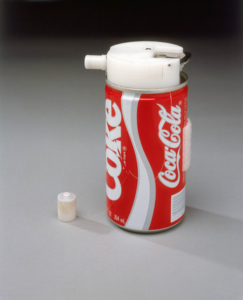 Prototype 'Coca Cola Space Can', 1985.