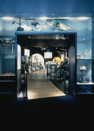 Entrance to the Health Matters gallery, Science Museum, London, 1990s.
