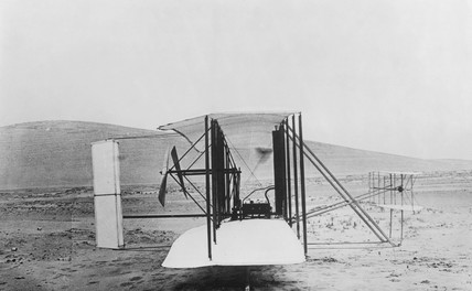 Wright Brothers aircraft 'Flyer', 1903.