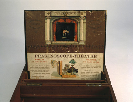 Praxinoscope Theatre, 1880.