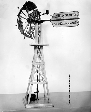 Halliday's 'Standard' self-regulating windmill, 1877.