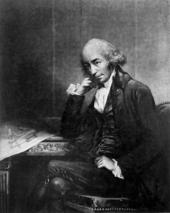James Watt, Scottish engineer, c 1793.