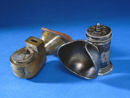 Anaesthetic inhalers, 1848-1920.