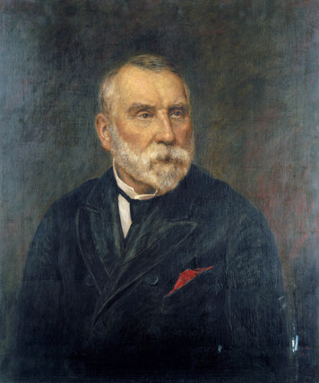 Edward William Watkin, English railway promoter, 1891.