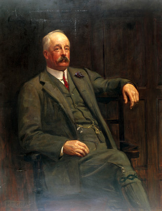 Sir Frederick Harrison, LNWR General Manager, early 20th century.
