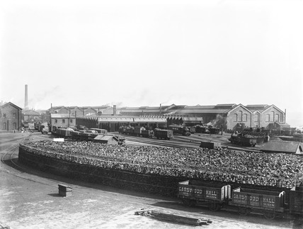Horwich works, 1907