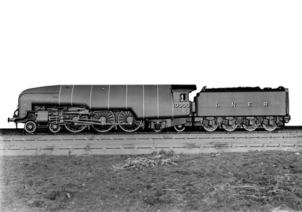 London and North Eastern Railway (LNER). Locomotive no.10000 class W1.