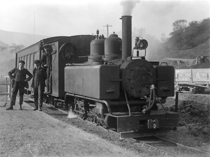 Ashover Light Railway locomotive 'Joan'. 1926 (Real X, X_2679).
