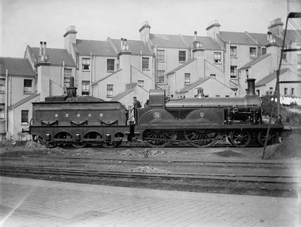 South Eastern and Chatham Railway (SECR) 4-4-0 locomotive no.680 Stirling class F.