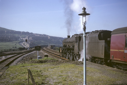 BR steam locomotive No.45647, 30th May 1966. (T.Linfoot slide, 8/153A)
