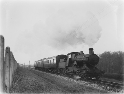 GWR locomotive no. 3417 at Landkey.