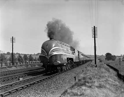LMS 'The Coronation' at Berkhamstead