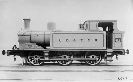 LDEC 0-6-0T locomotive no. 12