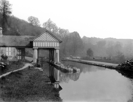 Midford, canal near Bath c1898 (Derby, DY_982)