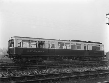 Armstrong Whitworth Northumbrian diesel railcar.