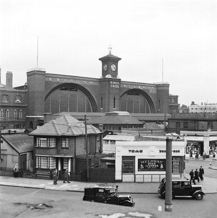King's Cross station, 1952.