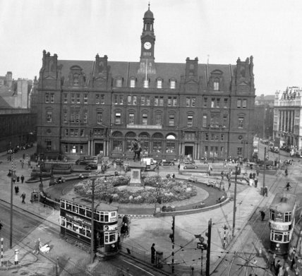 City Cross, Leeds 1949