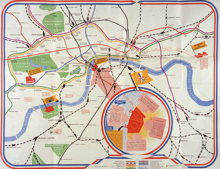 Transport organisation literature for London, 1948-1952