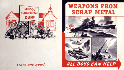 Weapons From Scrap Metal