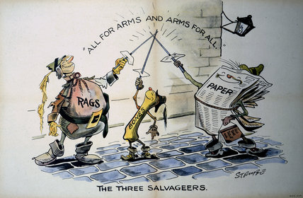The Three Salvageers