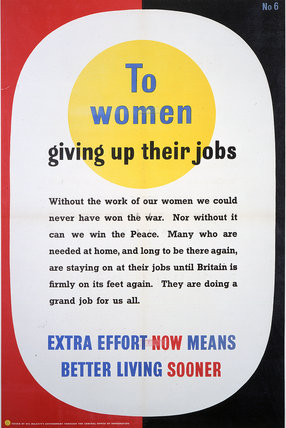 To Women Giving Up Their Jobs