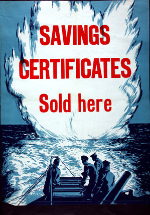 Savings Certificates Sold Here