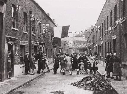 VE Day Celebrations, 8 May 1945.