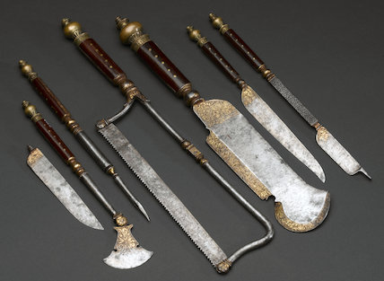 Hunting trousse, c.1570.