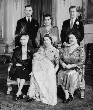 Princess Anne christening group