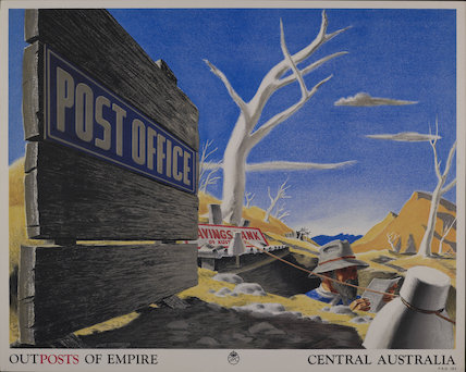 Outposts of Empire. Central Australia - 1938