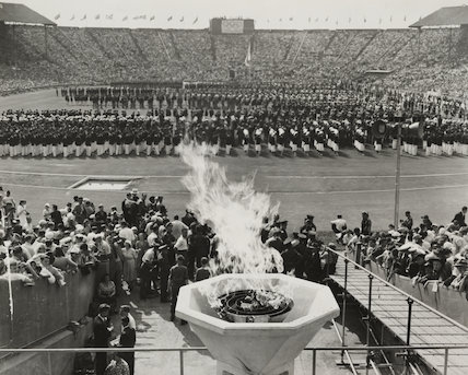 Opening of the Olympic Games, London, 1948