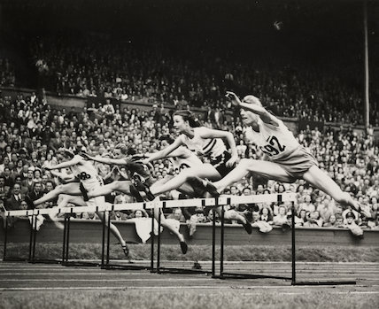 Womens' final of 80 metres hurdles, 1948