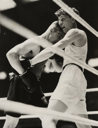 Olympic boxing - a win for Britain, 1948