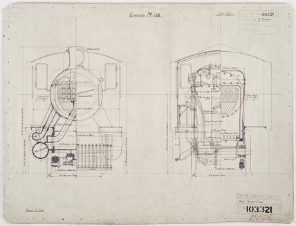Engineering drawing  1927,A1966.24/MS0001/3/103321