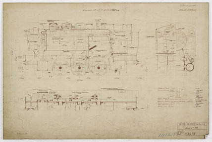 Engineering drawing  1933,A1966.24/MS0001/3/112675