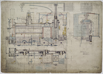 Engineering drawing  1902,A1966.24/MS0001/3/60699