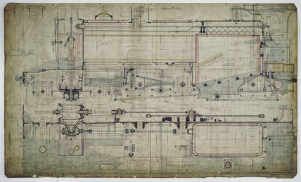 Engineering drawing, 1901