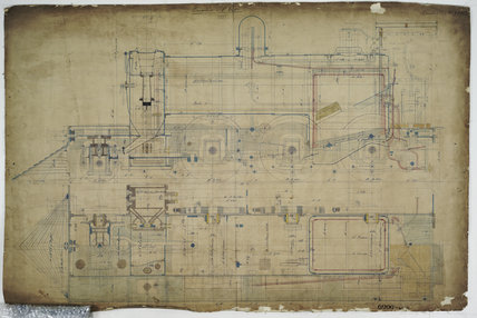 General arrangement drawing of North Eastern Railway of Uruguay '2-6-0' locomotive.42858_6990