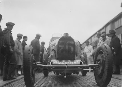 No. 26 racing car, photograph by Zoltan Glass.