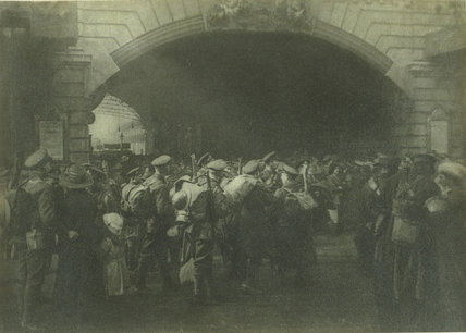 'The Gate of Goodbye', c.1916