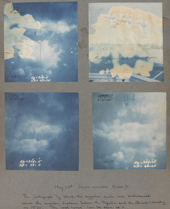 Fracto cumulus cloud formations taken at Kew Observatory in 1887. Page 3