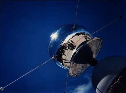 Vanguard Satellite SLV-2 Being Examined at Cape Canaveral