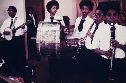 'Fairview Baptist Church Boys Band, New Orleans', 1971