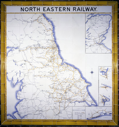 NER tile map