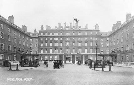 Euston station hotel, 1915