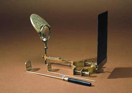 Laryngoscope, late 19th century.