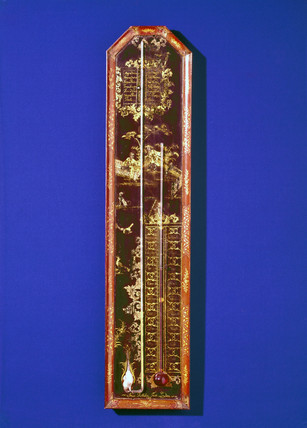 Combined barometer and thermometer, 1719.